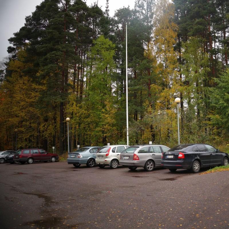 Площадка-паркинг
